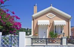 Holiday cottage in Fiskardo, Kefalonia, Greece Stock Photos