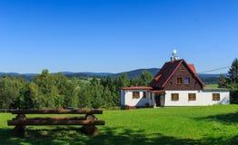 Holiday cottage Jizerka Royalty Free Stock Image