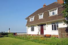 Holiday cottage by the sea Stock Image