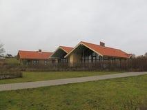 Holiday Cottages on Flensburg Fjord Stock Image