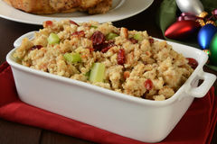 Holiday cranberry stuffing royalty free stock images
