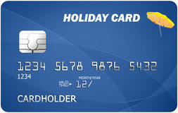 Holiday credit card Royalty Free Stock Photos