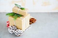 Holiday Cristmas Card Royalty Free Stock Photography