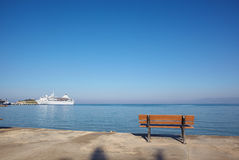 Holiday cruise liner Royalty Free Stock Photo