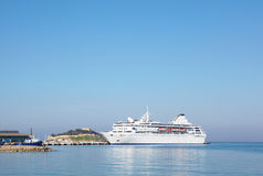 Holiday cruise liner Royalty Free Stock Photography