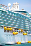 Holiday cruise liner Royalty Free Stock Photos