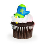 Holiday Cupcake Royalty Free Stock Photo