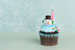 Holiday Cupcake Royalty Free Stock Image