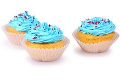 Holiday Cupcakes Royalty Free Stock Photography
