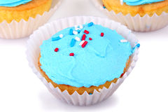 Holiday Cupcakes Stock Images