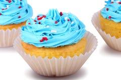 Holiday Cupcakes Stock Photos