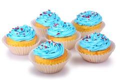 Holiday Cupcakes Royalty Free Stock Image