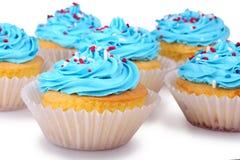 Holiday Cupcakes Royalty Free Stock Photos