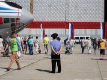 Holiday - Day of Civil Aviation. Royalty Free Stock Photos
