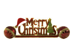 Holiday Decor. Christmas Decorations make for a uniqe household display Stock Image