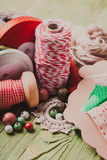 The Holiday decor Stock Photos
