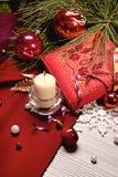 Holiday decoration. Beautiful image of multicolored holiday decorations Stock Image