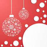Holiday Decoration Balls Royalty Free Stock Image