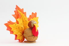 Holiday Decoration Tiny Turkey Royalty Free Stock Photography