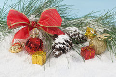 Holiday decorations Royalty Free Stock Images