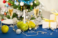 Holiday decorations Stock Photography