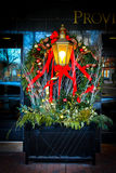 Holiday Decorations at the Biltmore Hotel, Providence, RI Royalty Free Stock Images