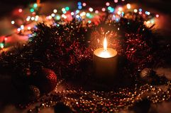 Holiday Decorations. Stock Photo
