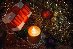 Holiday Decorations. Royalty Free Stock Photography