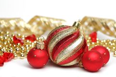 Holiday decorations. Christmas Royalty Free Stock Photography
