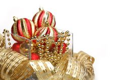 Holiday decorations. Christmas Stock Images