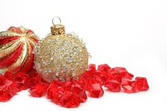 Holiday decorations. Christmas Stock Photos
