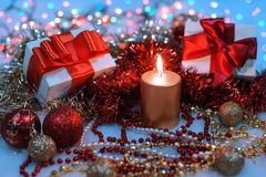 Holiday Decorations. Stock Image