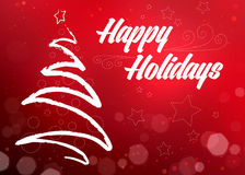 Holiday decorative background. Stock Images