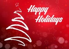 Holiday decorative background. Stock Images