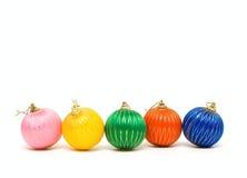 Holiday decorative balls Royalty Free Stock Images