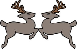 Holiday Deer Royalty Free Stock Photo