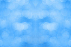 Holiday defocused background. Blue christmas holiday defocused background Stock Photo