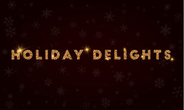 Holiday Delights. Royalty Free Stock Image