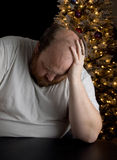 Holiday Depression Stock Photo