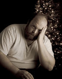 Holiday Depression stock photography