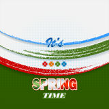 Holiday design, background for celebrating the coming of spring Royalty Free Stock Images