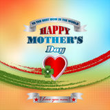 Holiday design, background for Celebration of Mother's Day Royalty Free Stock Image
