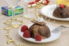 Holiday desserts stock photo