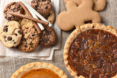 Holiday Desserts Royalty Free Stock Photography