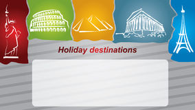Holiday destination Royalty Free Stock Photos