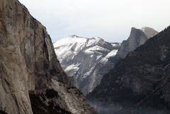 Inspiration point, Yosemite national park, California. Holiday destination, Inspiration point, Yosemite national park, California Stock Photo