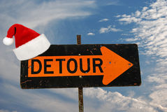 Holiday Detour Royalty Free Stock Images