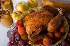 Holiday Dinner Royalty Free Stock Photography