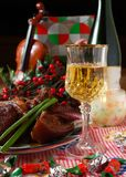 Holiday dinning #3 Royalty Free Stock Images