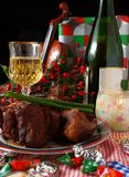 Holiday dinning #4 Stock Photography